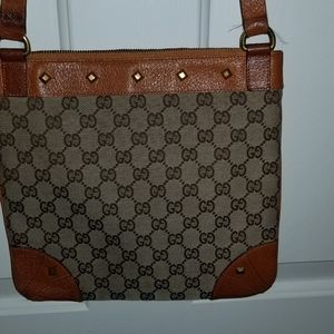 Gucci Authentic monogram crossbody purse